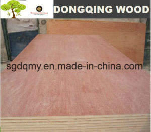 Furntirue Grade 4mm Bintangor Plywood with Poplar Core pictures & photos