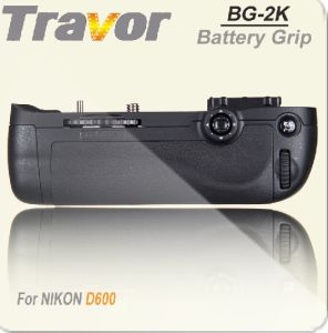 New Travor DSLR Battery Grip Bg-2k for Nikon D600 Camera Accessory (DSLR Battery Grip)