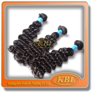 5A Brazilian Deep Wave Human Hair, Hair Extension pictures & photos