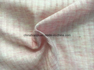 6*4 Rib, P/R 65/35, 140GSM, Melange Knitted Fabric for Women′s Garment pictures & photos