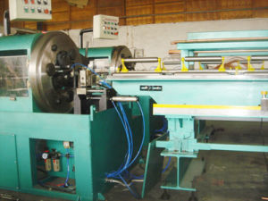 Finned Tube Machine