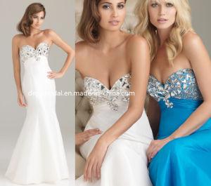 Taffeta Diamonds Evening Dress (EV0058)