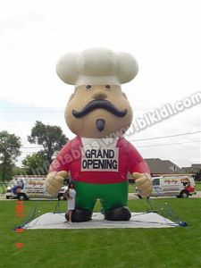 Inflatable Chef Balloon, Opening Now Advertising Balloon, Event Balons (K2008) pictures & photos