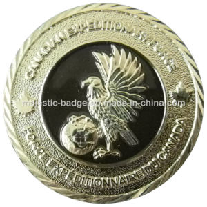 Customized Silver Plated Challenge Coin pictures & photos