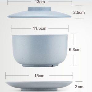 Wheat Straw Green Degradable Tableware Bowl