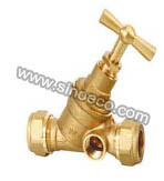 Brass Gate Valve with Plastic Handle Wheel pictures & photos
