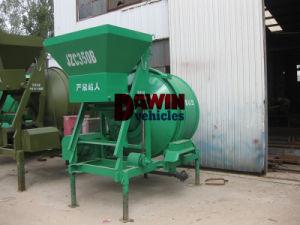Cheap 500L Mobile Wheels Diesel Engine Drum Concrete Mixer pictures & photos