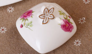 Beautiful Ceramic Jar Porcelain Spice Jar for Kitchen pictures & photos