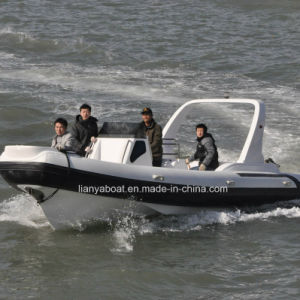 Liya 33 75m FRP Rib Boats Small Luxury Yacht For Sale