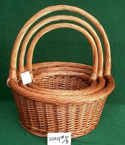 Unique Wicker Baskets (22021# s/3)