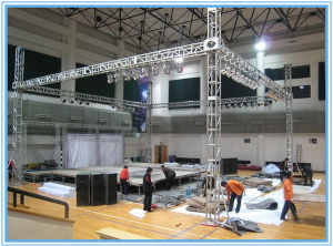 10years Guarantee Stage Aluminum Truss Indoor Booth pictures & photos