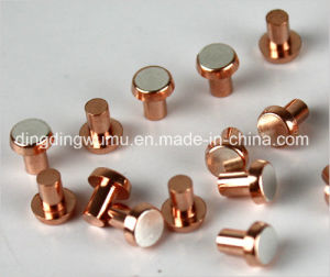 Silver Copper Contactor for Electric Vacuum Switch pictures & photos