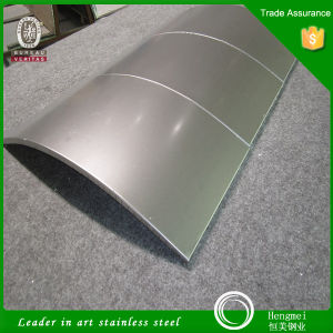316L Stainless Steel Building Materials PVD Colored Stainless Steel Honeycomb Panel for Column Cladding pictures & photos
