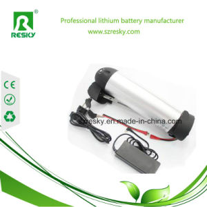 24V 13ah Lithium Ion Battery for 250W Electric Bicycle Motor