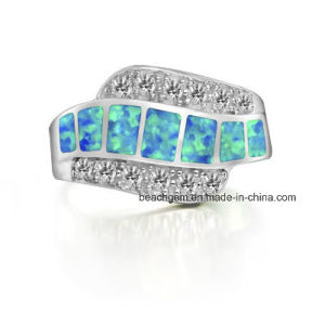 Brass Created Opal Jewelry Rings pictures & photos