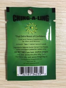 Ching-a-Ling Strong 100% Natural Libido Supplement Effective Slimming Capsule Diet Pills Weight Loss pictures & photos