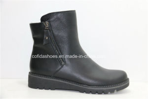 16fw New Comfort Casual Women Leather Boots pictures & photos