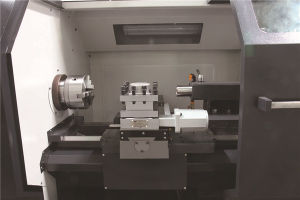 Box Guideway CNC Lathe with Tailstock pictures & photos