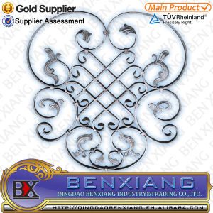 Cast Steel Flower Wrought Iron Rosettes pictures & photos