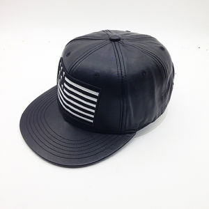 Fashion Custom Logo PU Hip-Hop Hat (ACEW085) pictures & photos