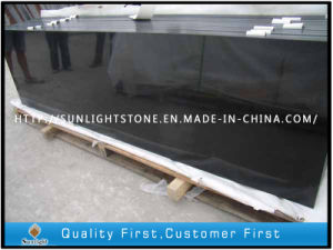 Cheap G684 Pearl Black Granite Slabs for Paving Floor Tiles, pictures & photos