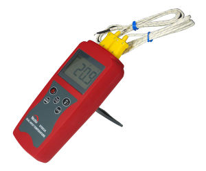 K-Type Two Channel Industrial Digital Thermometer Wholesale