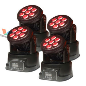 Mini 10W LED Moving Head Beam Wash Club Effect Lights pictures & photos