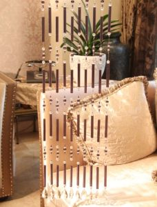 Gift Decoration of Crystal Glass Tube Curtain pictures & photos