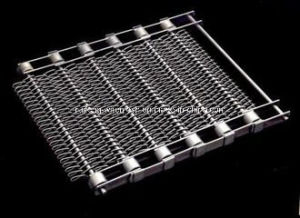 Stainless Steel Enrober Conveyor Belts with Points pictures & photos