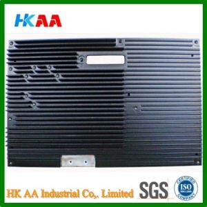 Black Anodize High Pressure Aluminium Die Casting Telecommunication Heat Sink pictures & photos