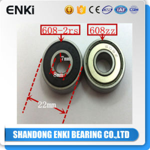 608-2RS Hybrid Ceramic Ball Deep Groove Ball Bearing (608zz 608 RS) pictures & photos