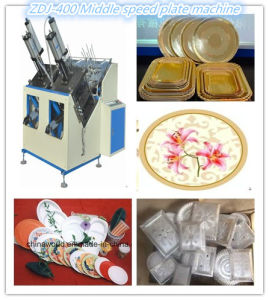 80-100 PCS/Min Paper Plate Making Machine, Disposable Plate Forming Machine pictures & photos