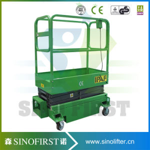 3m to 4m Mini Self Propelled Small Scissor Lift pictures & photos