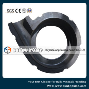 Rubber Centrifugal Sand Mud Slurry Pump Part Cover Plate Liner pictures & photos