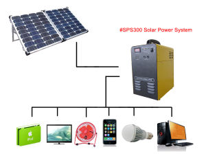 5kw 10kw Home Power Supply Solar Energy System pictures & photos