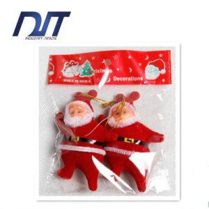 9*5cm Red Santa Claus Christmas Decorative Pendant Factory Direct pictures & photos