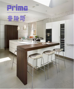 European Style MDF Carcase with UV Finish Door Mini Kitchen Design pictures & photos