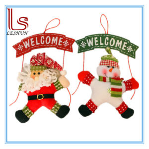 Christmas Decorations Christmas Door Hang Welcome Wreath pictures & photos