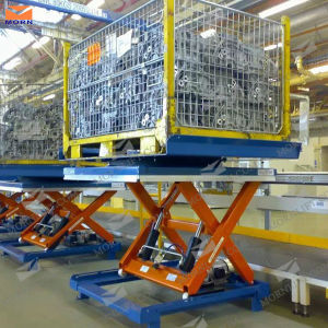 Aerial Scissors Lift with Load 1000kg pictures & photos