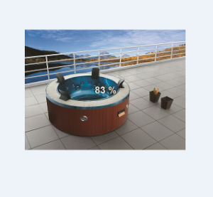 Acrylic SPA Massage Round Big Tub (M-3329) pictures & photos