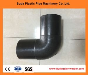 Plastic Pipe Fitting PE100/HDPE Socket 90 Degree Elbow pictures & photos