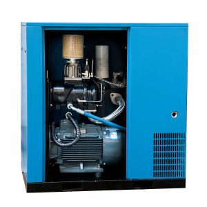 Manufacturer Oil Flooded Lubrication Direct Driven Rotary Screw Air Compressor