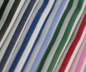Classical Stripe Plain Polyester Cotton Shirt Fabric pictures & photos