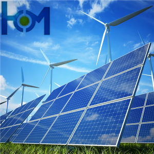 3.2mm Textured Clear Coated Solar Tempered Glass / Photovoltaic Glass for Solar Panel pictures & photos