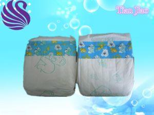 Economy Elastic Band Cotton Baby Diaper pictures & photos