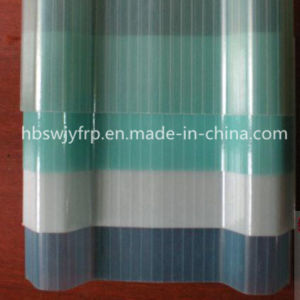 Strong Impact Resistance Heat Resistant Translucent FRP Roofing Sheet pictures & photos