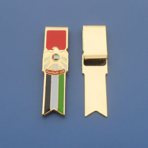 UAE Falcon Metal Money Clip Paper Clip (ASNY-BM-TM-157) pictures & photos