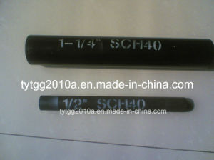 Welded Round Steel Black Pipes pictures & photos