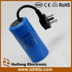 Cbb60 AC Motor Run Cable 450V 250V Film Capacitor pictures & photos