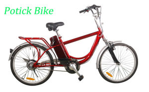 250W Cheap City E Bicycle for Woman pictures & photos